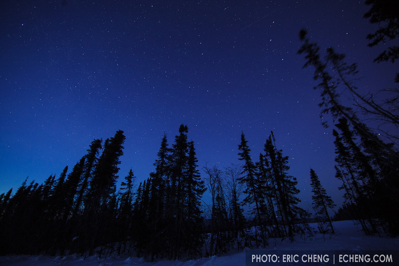 Night sky. Fairbanks, Alaska.