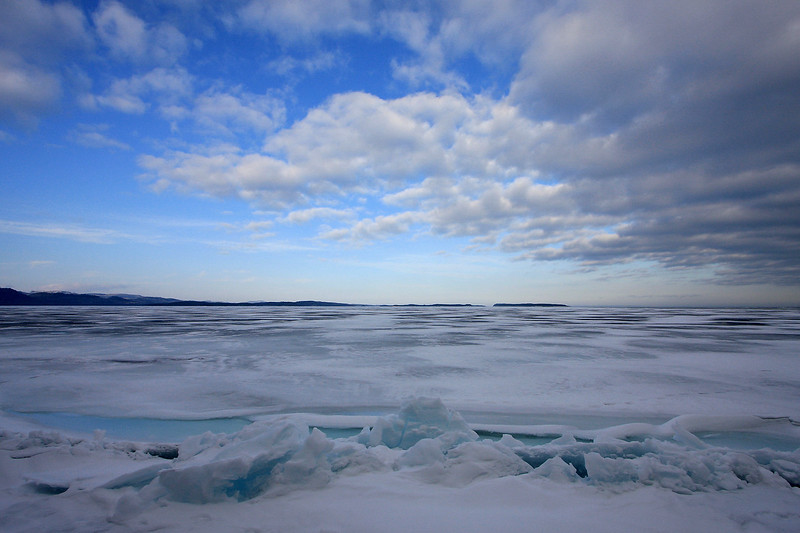 "SATURDAY, MARCH 21, 2009<br /> <br /> SUPERIOR WINTER 6589<br /> <br /> ""Ice pressure ridge on Wauswaugoning Bay""<br /> <br /> Camera: Canon EOS 40D<br /> Lens: Canon EF-S 10-22mm<br /> Focal length: 10mm<br /> Shutter speed: 1/320<br /> Aperture: f/11<br /> ISO: 200"