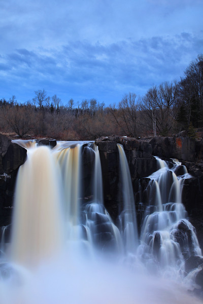 "SUNDAY, APRIL 24, 2011<br /> <br /> PIGEON RIVER 9652<br /> <br /> ""Spring Evening at High Falls""<br /> <br /> Grand Portage State Park, MN. The water level at High Falls right now is perfect for doing long exposures and capturing many layers of water. Get there and visit the falls now while the water conditions are optimum for this kind of shot! <br /> <br /> Camera: Canon EOS 5D Mark II<br /> Lens: Canon EF 24-105mm<br /> Focal length: 35mm<br /> Shutter speed: 5 seconds<br /> Aperture: f/16<br /> ISO: 50"