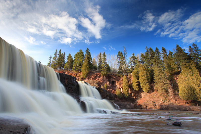 "FRIDAY, MAY 6, 2011<br /> <br /> GOOSEBERRY RIVER 0007<br /> <br /> ""Spring at Gooseberry""<br /> <br /> Had a great evening and night doing some photography at Gooseberry Falls and Temperance River. Sunset and twilight at Temperance was AWESOME. Such a beautiful evening :-)<br /> <br /> Camera: Canon EOS 5D Mark II<br /> Lens: Canon EF 17-40mm<br /> Focal length: 17mm<br /> Shutter speed: 1.3 seconds<br /> Aperture: f/22<br /> ISO: 50"