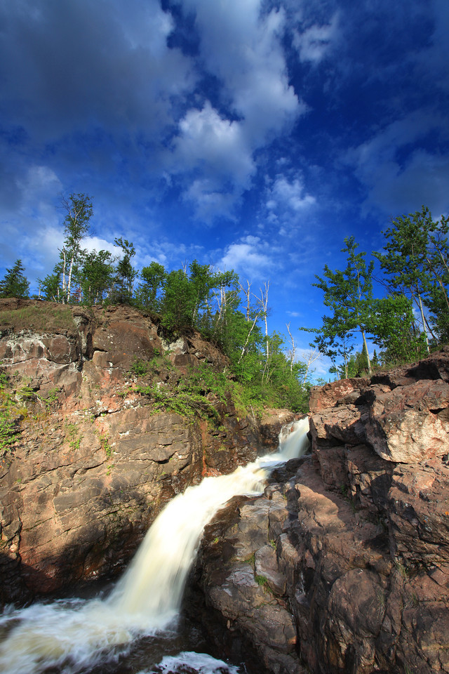 "THURSDAY, JUNE 7, 2012<br /> <br /> RIVERS 7987<br /> <br /> ""Two Island River Waterfall""<br /> <br /> Camera: Canon EOS 5D Mark II<br /> Lens: Canon EF 17-40mm<br /> Focal length: 17mm<br /> Shutter speed: 1/5<br /> Aperture: f/22<br /> ISO: 50"