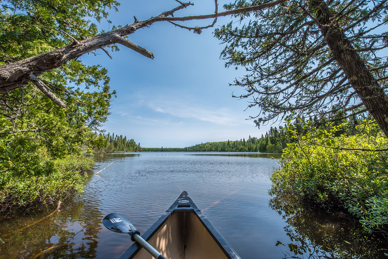 "WEDNESDAY, JULY 29, 2015<br /> <br /> LAKES 7259<br /> <br /> ""North Woods Solitude""<br /> <br /> A quiet summer day on a small lake in northeast Minnesota.  It sure is nice when you can have a lake all to yourself :-)<br /> <br /> Camera: Nikon D750<br /> Lens: Nikon 14-24mm f/2.8<br /> Focal length: 14mm<br /> Shutter speed: 1/200<br /> Aperture: f/16<br /> ISO: 200"