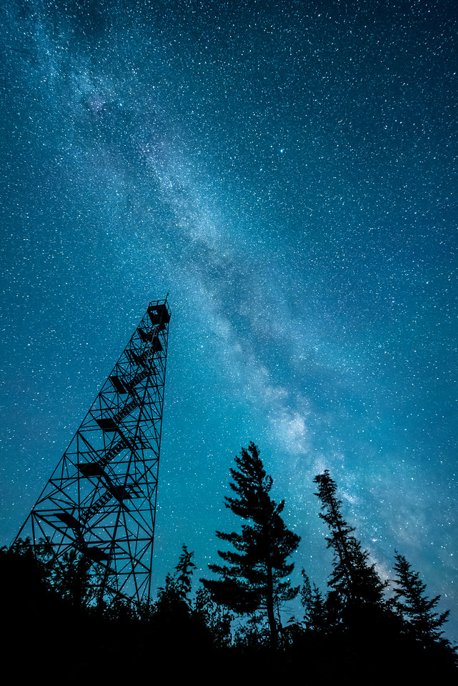 "SUNDAY, JUNE 21, 2015<br /> <br /> MILKY WAY 5721<br /> <br /> ""Mt. Maude Tower and the Milky Way""<br /> <br /> A beautiful June night stargazing at the Milky Way Galaxy with the Mt. Maude fire tower in the foreground.<br /> <br /> Grand Portage, MN<br /> <br /> P.S. - Happy Father's Day to all the dad's out there!<br /> <br /> Camera: Nikon D750<br /> Lens: Nikon 14-24mm f/2.8<br /> Focal length: 16mm<br /> Shutter speed: 25 seconds<br /> Aperture: f/2.8<br /> ISO: 6400"