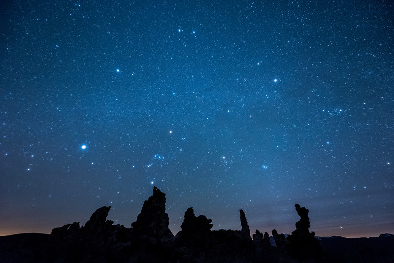 "TUESDAY, MARCH 31, 2015<br /> <br /> CALIFORNIA 2057<br /> <br /> ""Imaginarium""<br /> <br /> The night sky over tufa formations at Mono Lake, California.  I absolutely LOVED the night skies on the eastern side of the Sierra Nevada Mountains in California.  I can only imagine how incredible the views of the night sky are from the TOP of the mountain range!  One day I will see it from there, as Jessica and I plan to eventually hike some of the John Muir Trail. For now, this view from Mono Lake will suffice just fine :-)  This photo was made after a long day of driving and photography that started in Death Valley.  <br /> <br /> We arrived at Mono Lake just before 10 PM and made our way down to the shoreline.  As we walked down the trail to the lake we could start to see the tufa formations silhouetted against the sky.  When we arrived at the first formations we switched off our headlamps and gazed up at the stars, which were so bright and vivid it seemed as though we could reach out and pluck them from the sky.  I photographed the tufa and stars for about an hour then we headed to our motel for some much needed rest.  Witnessing the awesome night sky at Mono Lake was the perfect way to end an unforgettable day in California!<br /> <br /> Camera: Nikon D750<br /> Lens: Nikon 14-24mm f/2.8<br /> Focal length: 14mm<br /> Shutter speed: 20 seconds<br /> Aperture: f/2.8<br /> ISO: 6400"