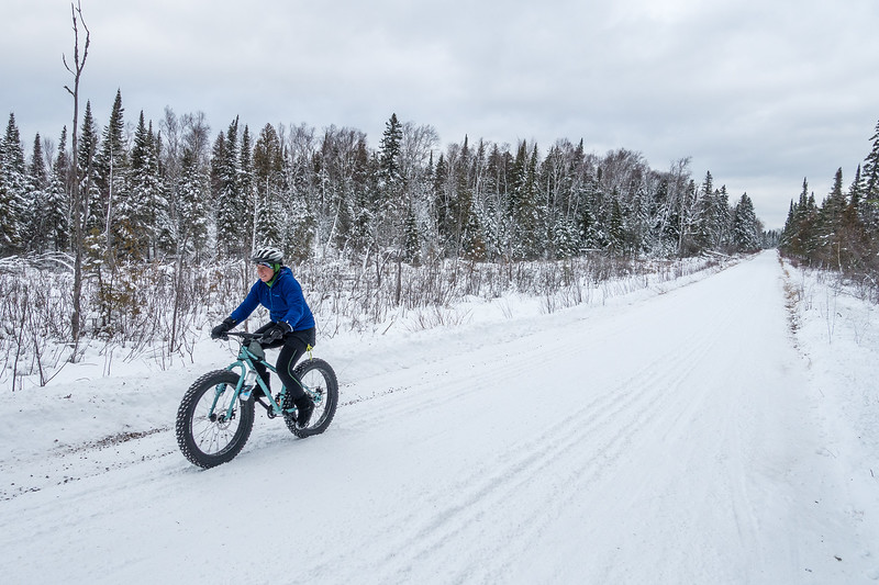 "FRIDAY, DECEMBER 30, 2016<br /> <br /> BIKING 04547<br /> <br /> ""Winter Cruise on the Old Highway""<br /> <br /> Just another beautiful day for a winter bike ride in northeast Minnesota!  Taken along Old Highway 61 in Grand Portage, MN.<br /> <br /> Camera: Sony DSC-RX100M3<br /> Focal length: 25mm<br /> Shutter speed: 1/320<br /> Aperture: f/4<br /> ISO: 200"