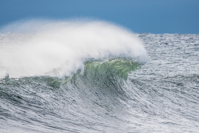 """SATURDAY, JANUARY 2, 2016<br /> <br /> SUPERIOR WAVES 5761<br /> <br /> """"The Power of the Wind""""<br /> <br /> Here is another Lake Superior wave photo to bring in the new year.  This photo was captured in Tofte, MN from the public water access.  The waves sure were crashing into the shore in an impressive way and I had a blast capturing them with the camera!  I loved the way the wind was pushing the spray back from the crest of this wave.<br /> <br /> Camera: Nikon D750<br /> Lens: Tamron SP 150-600mm<br /> Focal length: 600mm<br /> Shutter speed: 1/2000<br /> Aperture: f/11<br /> ISO: 1600"""