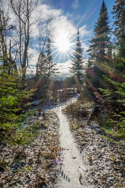 "TUESDAY, NOVEMBER 28, 2017<br /> <br /> FOREST 07347<br /> <br /> ""A beautiful day for a hike!""<br /> <br /> From an early morning hike recently at Grand Portage State Park in northeast Minnesota.  A cold morning with glorious sunshine!<br /> <br /> Camera: Sony DSC-RX10M3<br /> Focal Length: 24mm<br /> Exposure Time: 1/125<br /> Aperture: f/16<br /> ISO: 100"