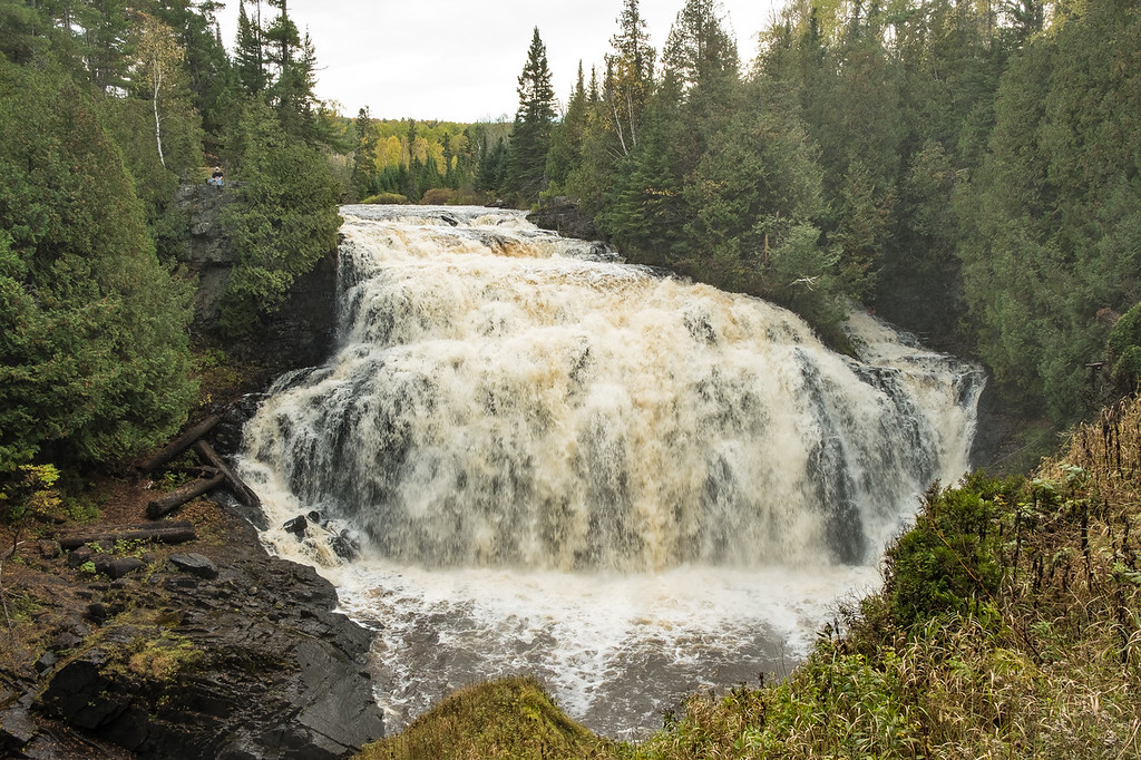 """FRIDAY, OCTOBER 13, 2017<br /> <br /> PIGEON RIVER 0384<br /> <br /> """"Partridge Falls""""<br /> <br /> Partridge Falls of the Pigeon River in Grand Portage, MN.  It's one of my favorite waterfalls.  I never tire of visiting it or photographing it.  Such a magical place.<br /> <br /> Camera: FUJIFILM X-T2<br /> Lens: FUJINON XF 18-55mm<br /> Focal Length: 18mm<br /> Exposure Time: 1/80<br /> Aperture: f/8<br /> ISO: 200"""