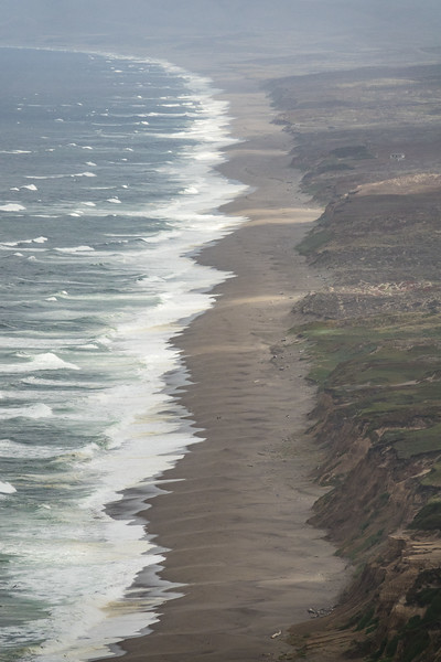 "SATURDAY, SEPTEMBER 23, 2017<br /> <br /> CALIFORNIA 05949<br /> <br /> ""Surf and Shadows, Point Reyes Coast""<br /> <br /> Spectacular view of the coastline at Point Reyes National Seashore in California.  It was super cool to see the shadows dancing across this landscape as we watched from high upon the nearby cliffs.<br /> <br /> Camera: Sony DSC-RX10M3<br /> Focal Length: 320mm<br /> Exposure Time: 1/2000<br /> Aperture: f/5.6<br /> ISO: 400"