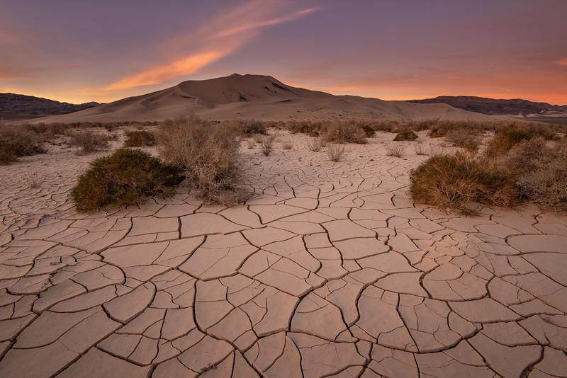 """""""Sunrise, Eureka Dunes"""""""