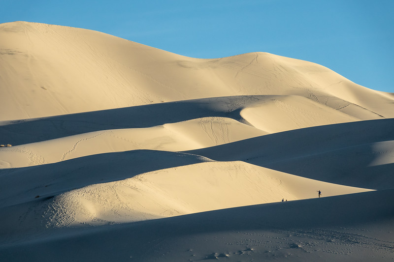 """Exploring the Eureka Dunes"""