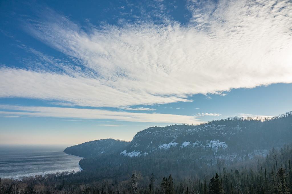 """February Afternoon, Mt. Josephine"