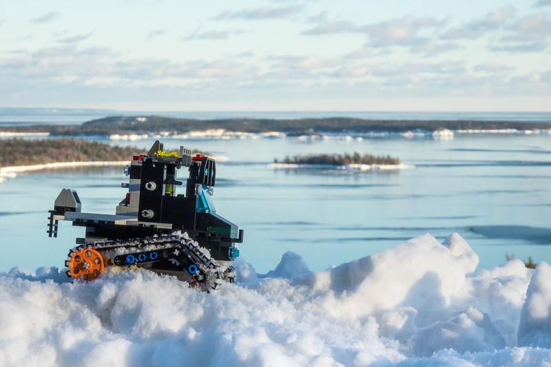 """Lake Superior Circle Tour with Lego Sno-Cat Adventures!"""