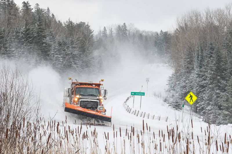"""MNDOT - Plowing Highway 61"""