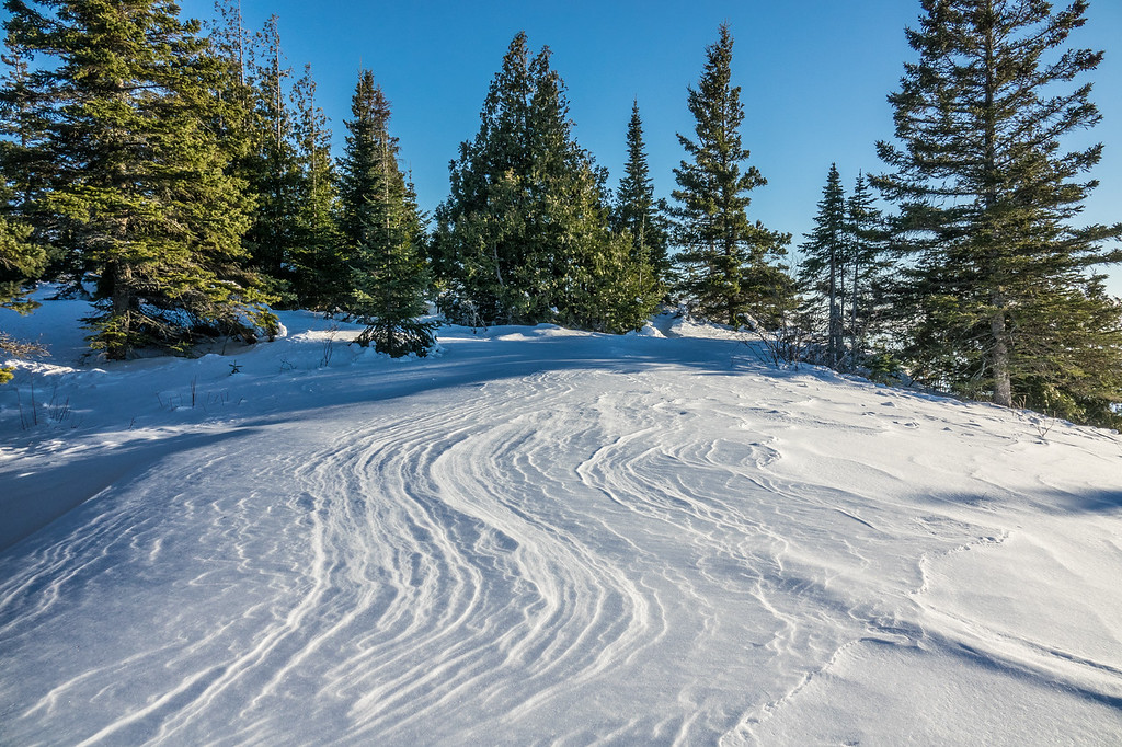 """Drift Lines, Mt. Josephine Summit"""