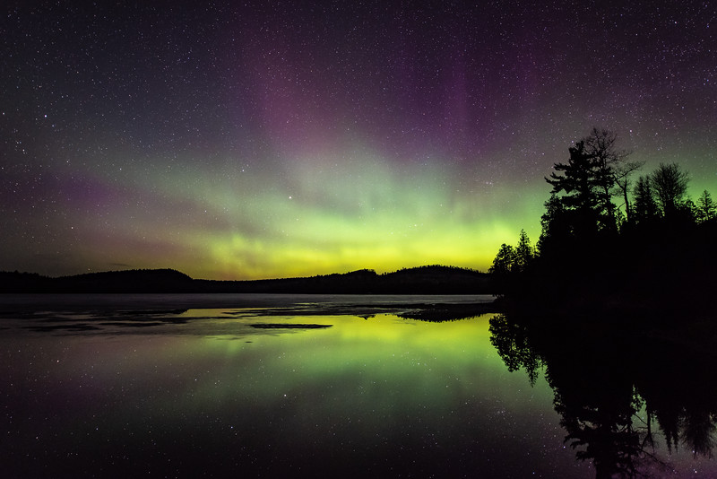 """McFarland Lake Aurora"""