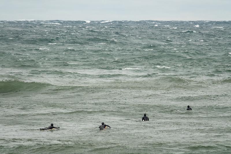 """Lake Superior Surfers"""