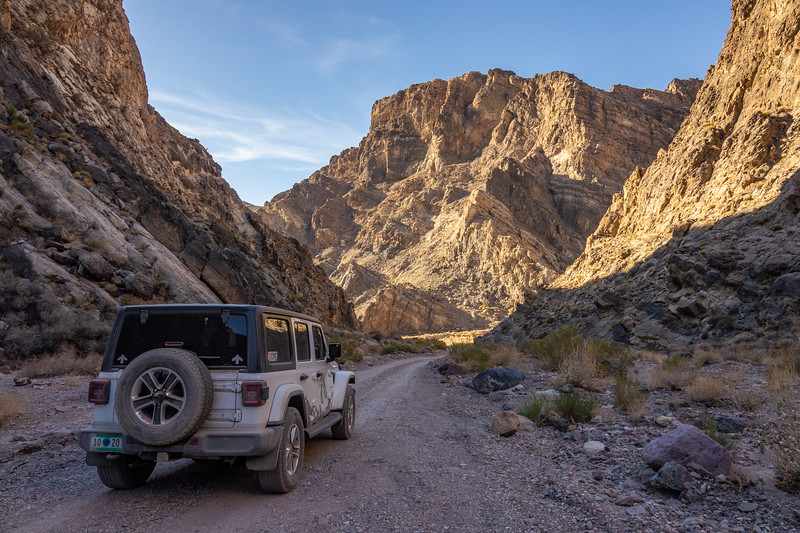 """Jeep adventure through the Titus Canyon narrows"""
