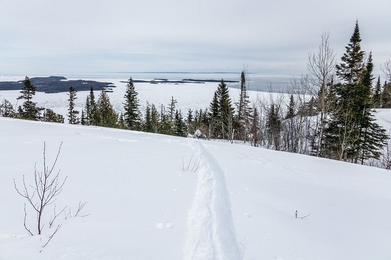 """Mt. Josephine Snowshoe Trail"""