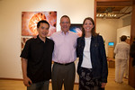 Eric Cheng, Bill and Nanette van Antwerp at the G2 Gallery