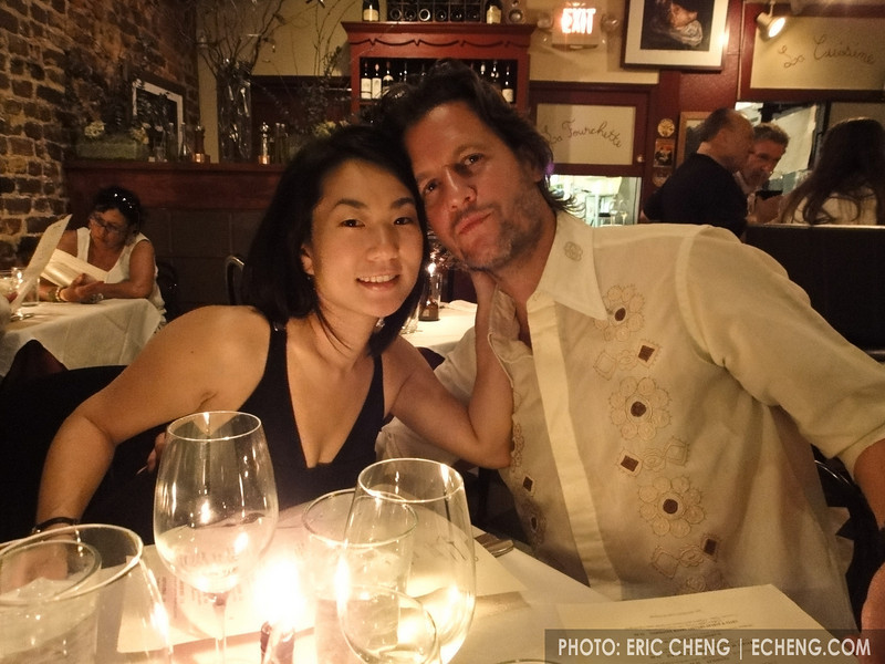 Livia Sohn and Geoff Nuttall celebrate their 10-year anniversary