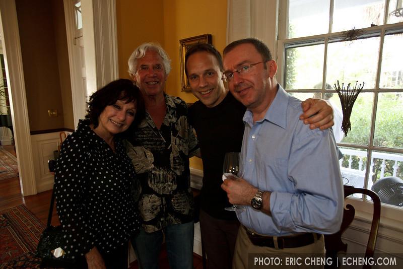 Sharon, John, Chris and Pedja at G&N's 10 year anniversary party