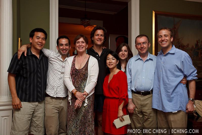 Eric, Inon, SuSu, Geoff, Livia, Alisa, Pedja, Josh