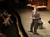 Geoff Nuttall speaks on stage at the Dock Street Theater
