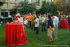 CS198 section leading reunion at the Gates building lawn, Stanford University