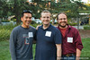 Eric Cheng, Mike Schroepfer (VP Engineering, Facebook), Mike Hanson (Principal Labs Engineer, Mozilla). (Photo: Nikhyl Singhal)