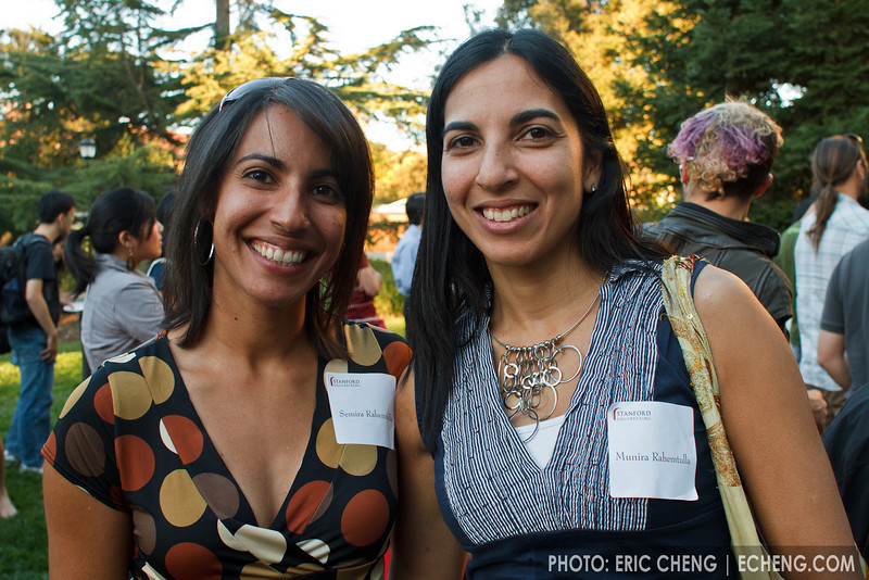 Semira Rahemtulla (Founder/CEO, MamaLista) and Munira Rahemtulla (Senior Manager, Software Engineering @ Amazon)