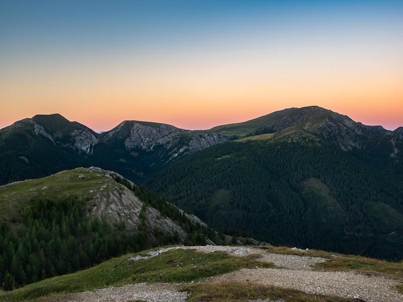 Sunrise - Nockberge