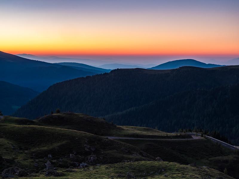 Nockberge - sunrise