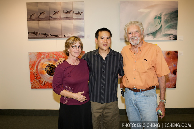 Mary Lynn Price, Eric Cheng and Chuck Nicklin