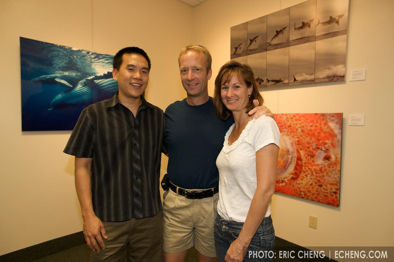 With Karen and John Ellerbrock of Gates Underwater Housings