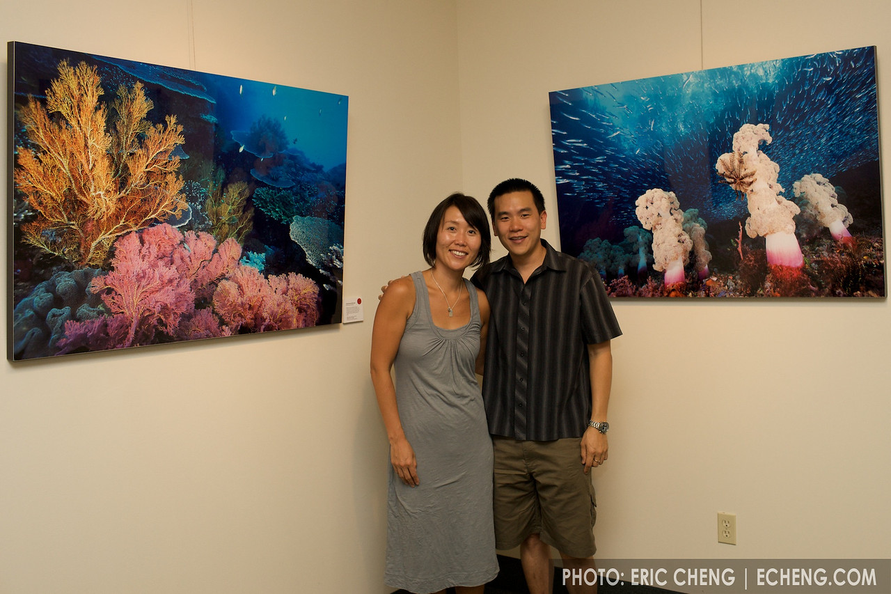 I was with Hiro and Steve Drogin when I took these two images during my first trip to Raja Ampat, Indonesia! (posing with Hiro)