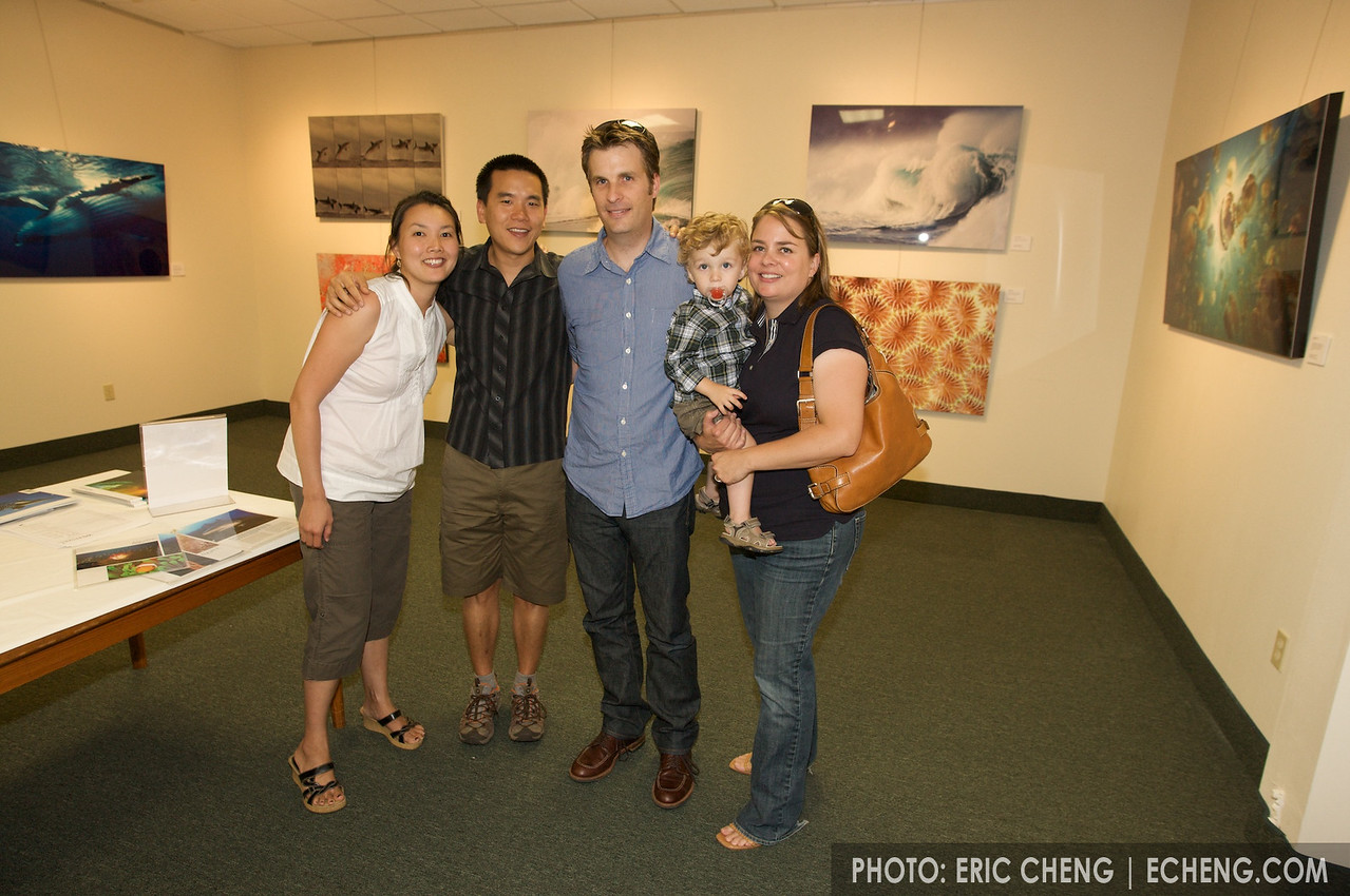 High school mates: Sherry, me, Andy, Jakson and Carrie