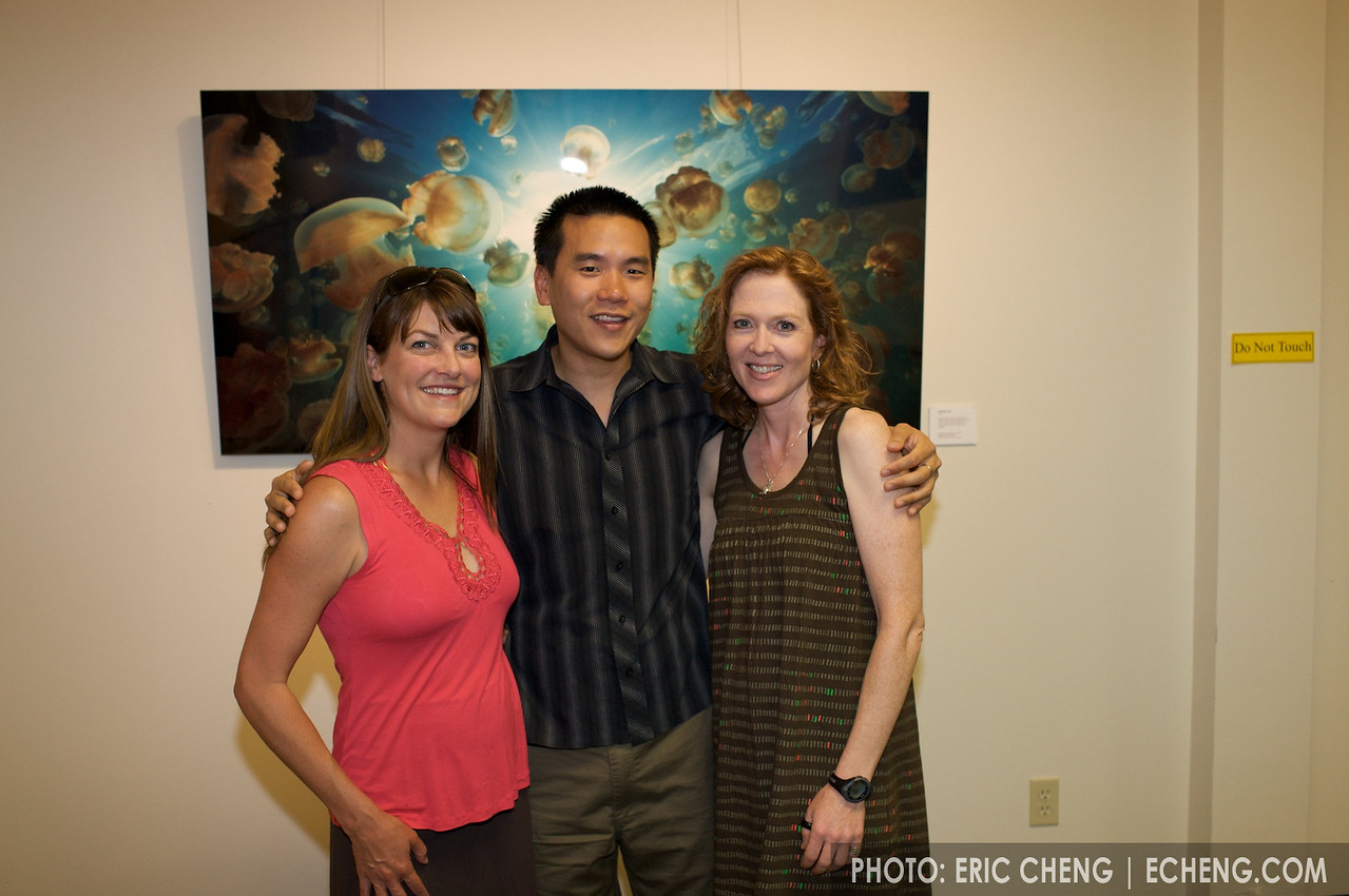 Abi Smigel, Eric Cheng, and Abi's friend