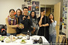 Pam, Laurel, me, Zandra, Vienna Teng, and Michele backstage at Yoshi's SF