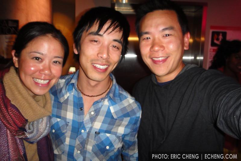 Pam, Alex Wong, me
