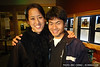 Vienna Teng with long-time friend, Steven Kam