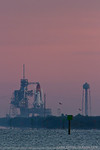 Endeavour on the launch pad for STS-134. 700mm (500 x 1.4), 1/1000 sec at f/11, ISO 320