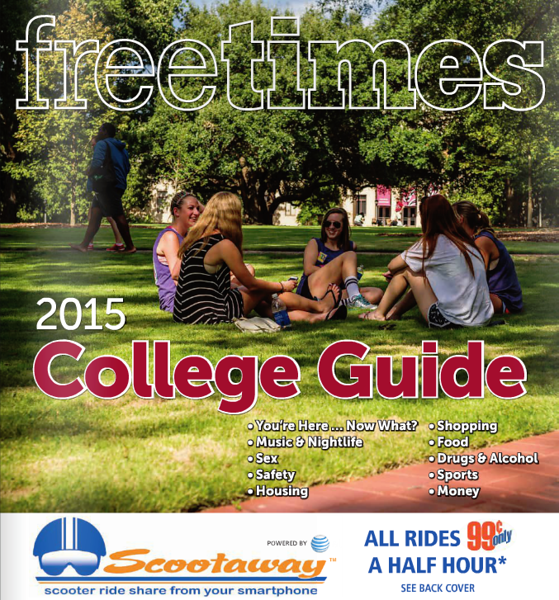 2015 Free Times College Guide