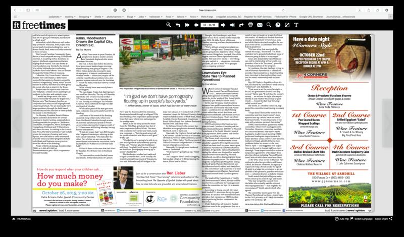 Free Times Newspaper 10/07/2015