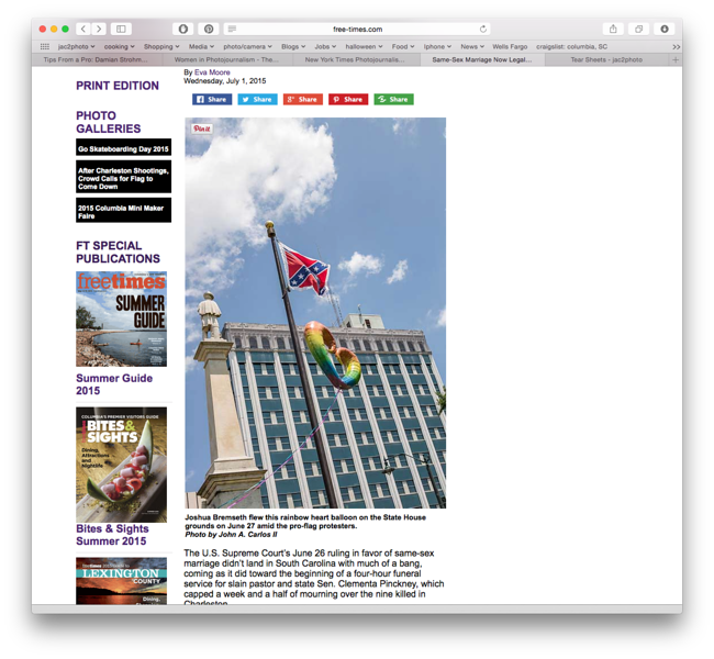 Free Times online July 1st 2015