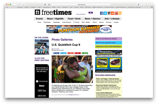 Free Times Online 04/18/2016