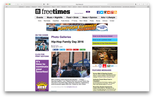 Free Times Online 04/11/2016