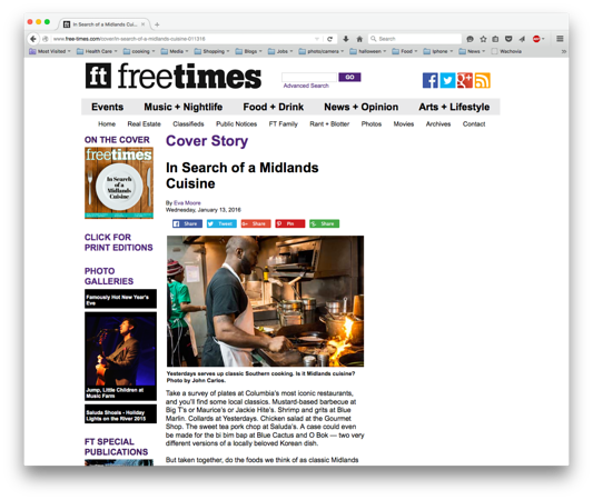 Free Times Online 01-13-2016