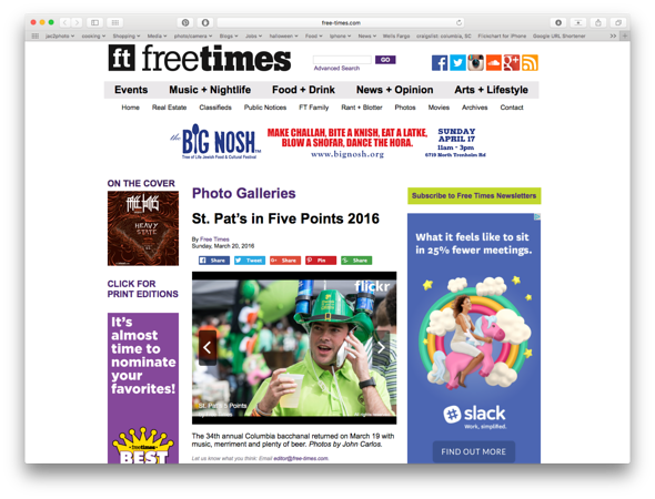 Free Times Online 03/20/2016