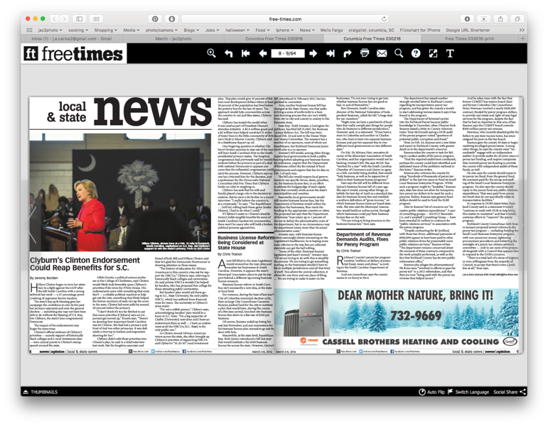 Free Times Newspaper 03/02/2016